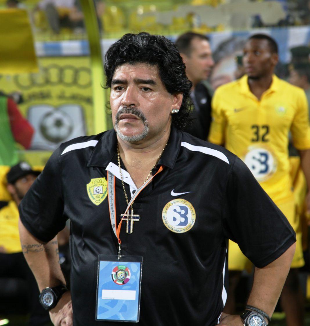 Diego Armando Maradona - wikipedia